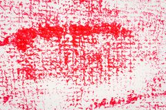 Fondo de acrílico manchado extracto rojo del arte Imagen de archivo libre de regalías