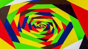 Fondo de acrílico a mano abstracto, puntos del contraste, colores del arco iris Plantilla colorida Puntos hermosos de la pintada Fotos de archivo libres de regalías