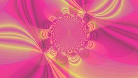 Fondo de alta resolución abstracto del fractal con un flor móvil ondulado detallado libre illustration