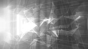 Fondo de alta tecnología abstracto ilustración del vector