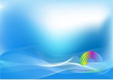 Fondo de alta tecnología abstracto con la flecha