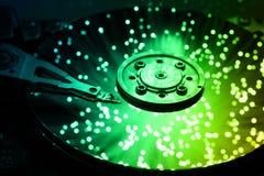 Fondo de alta tecnología de la tecnología Imagen de archivo