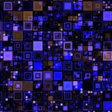 Fondo de alta tecnología de las cajas azules Imagen de archivo libre de regalías