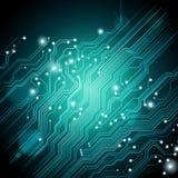 Fondo de alta tecnología - el vector está disponible Fotografía de archivo libre de regalías