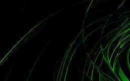 Fondo de alta tecnología verde stock de ilustración