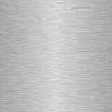 Fondo de aluminio cuadrado del metal Fotos de archivo