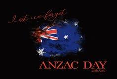 Fondo de Anzac Day Fotografía de archivo