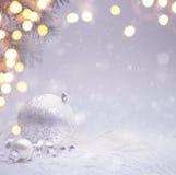 Fondo de Art Christmas Fotografía de archivo libre de regalías