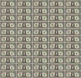 Fondo de Art Dollar Bill del pixel stock de ilustración