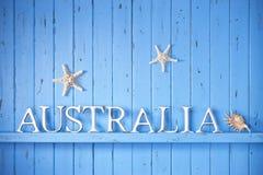 Fondo de Australia Imagen de archivo libre de regalías