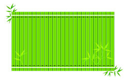 Fondo de bambú stock de ilustración