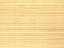 Fondo de bambú de la estera Fotografía de archivo libre de regalías