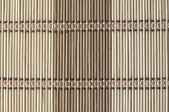 Fondo de bambú de la estera fotografía de archivo