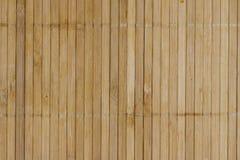 Fondo de bambú de la estera de la tarjeta Fotografía de archivo libre de regalías