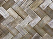 Fondo de bambú de la textura de la armadura en color de la naturaleza Imágenes de archivo libres de regalías