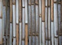 Fondo de bambú de la textura de la pared Fotos de archivo