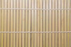 Fondo de bambú de la tira Foto de archivo