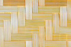 Fondo de bambú del artículo de mimbre Imagen de archivo libre de regalías