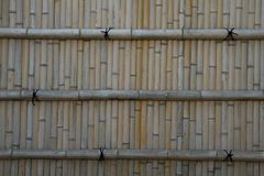 Fondo de bambú japonés de la pared Fotos de archivo
