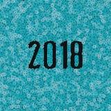 Fondo 2018 de Bitcoins Imágenes de archivo libres de regalías