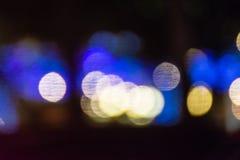Fondo de Bokeh de las luces Fotografía de archivo libre de regalías
