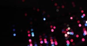 Fondo de Bokeh Garland Multicolored Abstract Blurred Background centellante metrajes