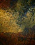Fondo de bronce de la textura. Foto de archivo libre de regalías