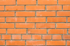 Fondo de Brown de la pared de ladrillo Imagen de archivo