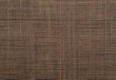 Fondo de Brown de la textura de la materia textil Fotografía de archivo libre de regalías