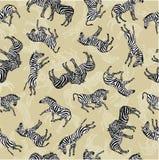 Fondo de cebras Imagen de archivo libre de regalías