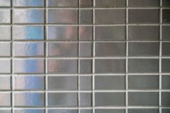 Fondo de cerámica gris de la pared imagen de archivo