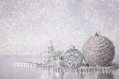 Fondo de Chrismas y del Año Nuevo imagen de archivo