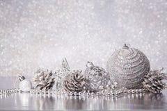 Fondo de Chrismas y del Año Nuevo imágenes de archivo libres de regalías