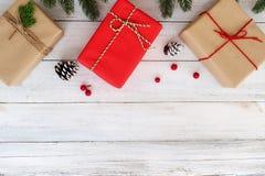 Fondo de Chrismas y del Año Nuevo Fotos de archivo libres de regalías