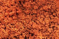 Fondo de cobre Foto de archivo libre de regalías