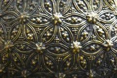 Fondo de cobre amarillo Imágenes de archivo libres de regalías
