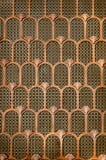 Fondo de cobre de Art Deco Fotografía de archivo libre de regalías