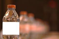 Fondo de consumición 1 del paquete del agua imagenes de archivo