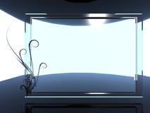 fondo de cristal Imágenes de archivo libres de regalías