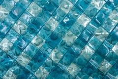 Fondo de cristal abstracto en la galería de arte de la isla de Bali, Indonesia Foto de archivo libre de regalías
