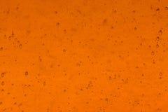 Fondo de cristal anaranjado Foto de archivo