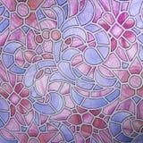 Fondo de cristal Arte - extracto Foto de archivo libre de regalías