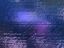 Fondo de cristal azul Foto de archivo libre de regalías
