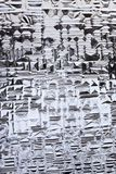 Fondo de cristal estructurado Foto de archivo