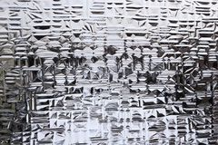 Fondo de cristal estructurado Fotografía de archivo