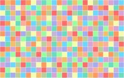 Fondo de cuadrados coloreados ilustración del vector