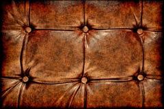 Fondo de cuero antiguo de Grunge Imagen de archivo libre de regalías