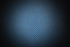 Fondo de cuero azul Imagen de archivo libre de regalías
