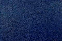 Fondo de cuero azul de la textura Fotos de archivo libres de regalías