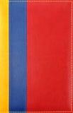 Fondo de cuero colorido Fotografía de archivo